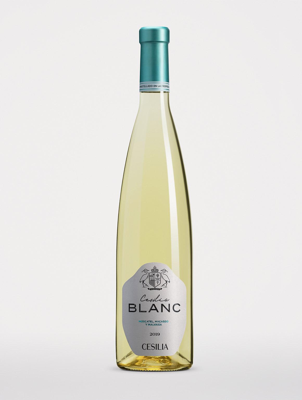 Botella de vino Cesilia Blanc