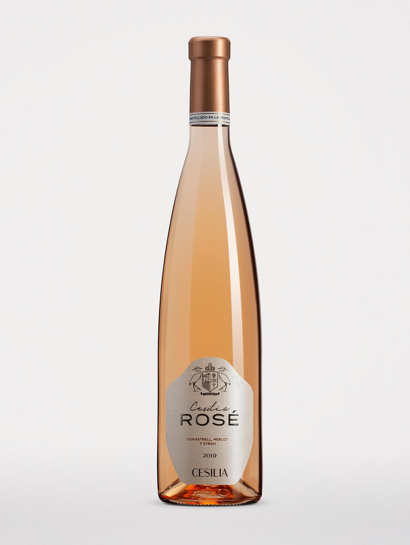Botella de vino Cesilia Rosé