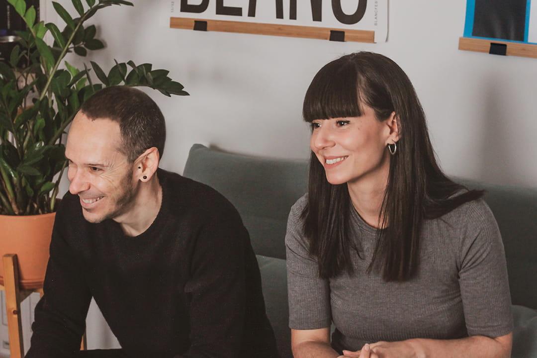 Sergio Alarcón y Marcela Ordóñez, fundador y socia de Feroz Estudio