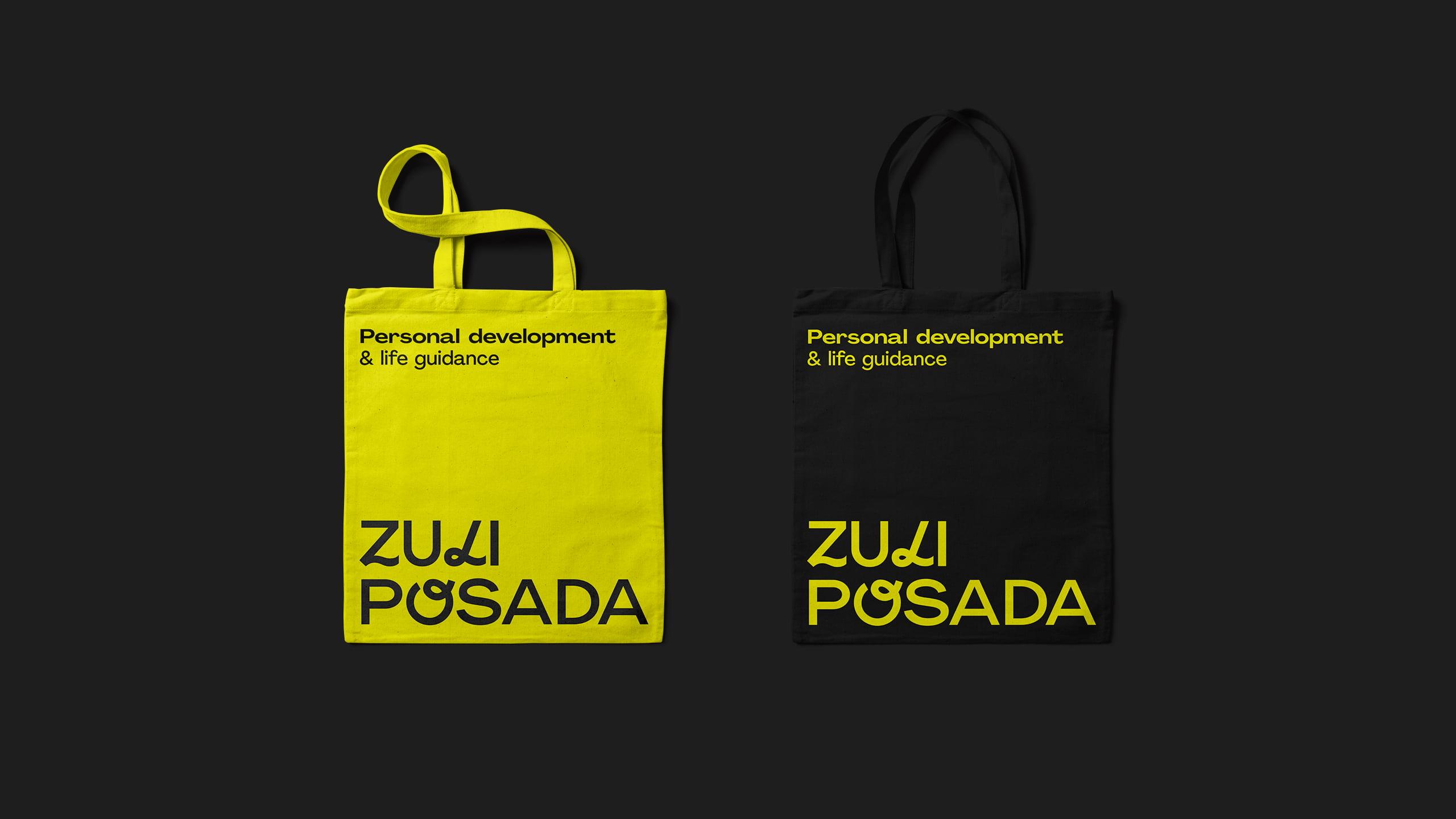 Totebag personalizado de Zuli Posada